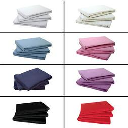 100% COTTON JERSEY FITTED BED SHEET SINGLE DOUBLE KING SUPER