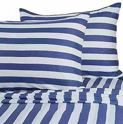 Pure Beech 100% Modal 3 PC Jersey Knit Sheet Set Navy Blue a