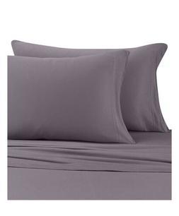 Pure Beech 100% Modal Charcoal Gray Jersey Knit Sheet Set Ki