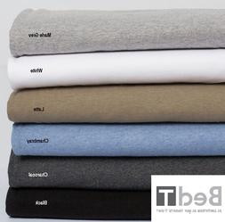 Bambury BedT Jersey Knit Tshirt 100% Cotton Sheet Set - SING