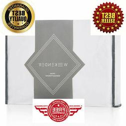 Deep Pocket Fit Mattress Protector Soft Bedding Bed Sheet Co
