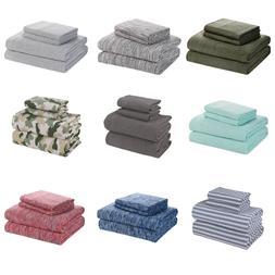 Extra Soft Jersey Sheet Set T-shirt Cotton Breathable & Shri