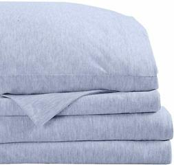 Great Bay Home Super Soft Tech Knit Jersey Sheets. Breathabl