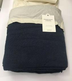 Restoration Hardware Heathered Jersey Sheet Set 100% Cotton