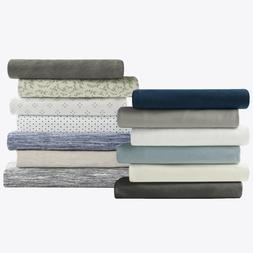 Brielle Home 100% Cotton Jersey Knit Fashion Sheet Set