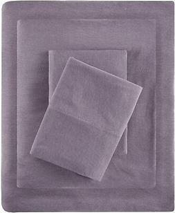 Intelligent Design Cotton Blend Jersey Knit Queen Bed Sheets