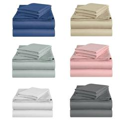 Jersey Knit Cotton Fitted Sheet Soft, Breathable Jersey T-Sh