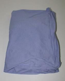 Jersey Knit FITTED Sheet for COT or RV TWIN 30 x 77 ~ Med Bl