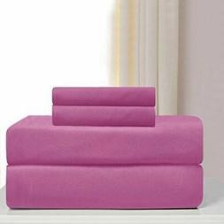Madison Jersey Pink Sheet Set-Queen