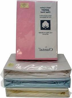 KING SIZE KING BED KS LUXURY QUALITY 100% cotton PINK JERSEY