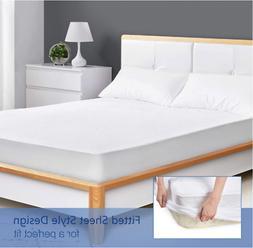 King Size Waterproof Mattress Protector Bedding Bed Sheet Co