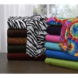 Knit Jersey Queen Size Bed Sheet Set