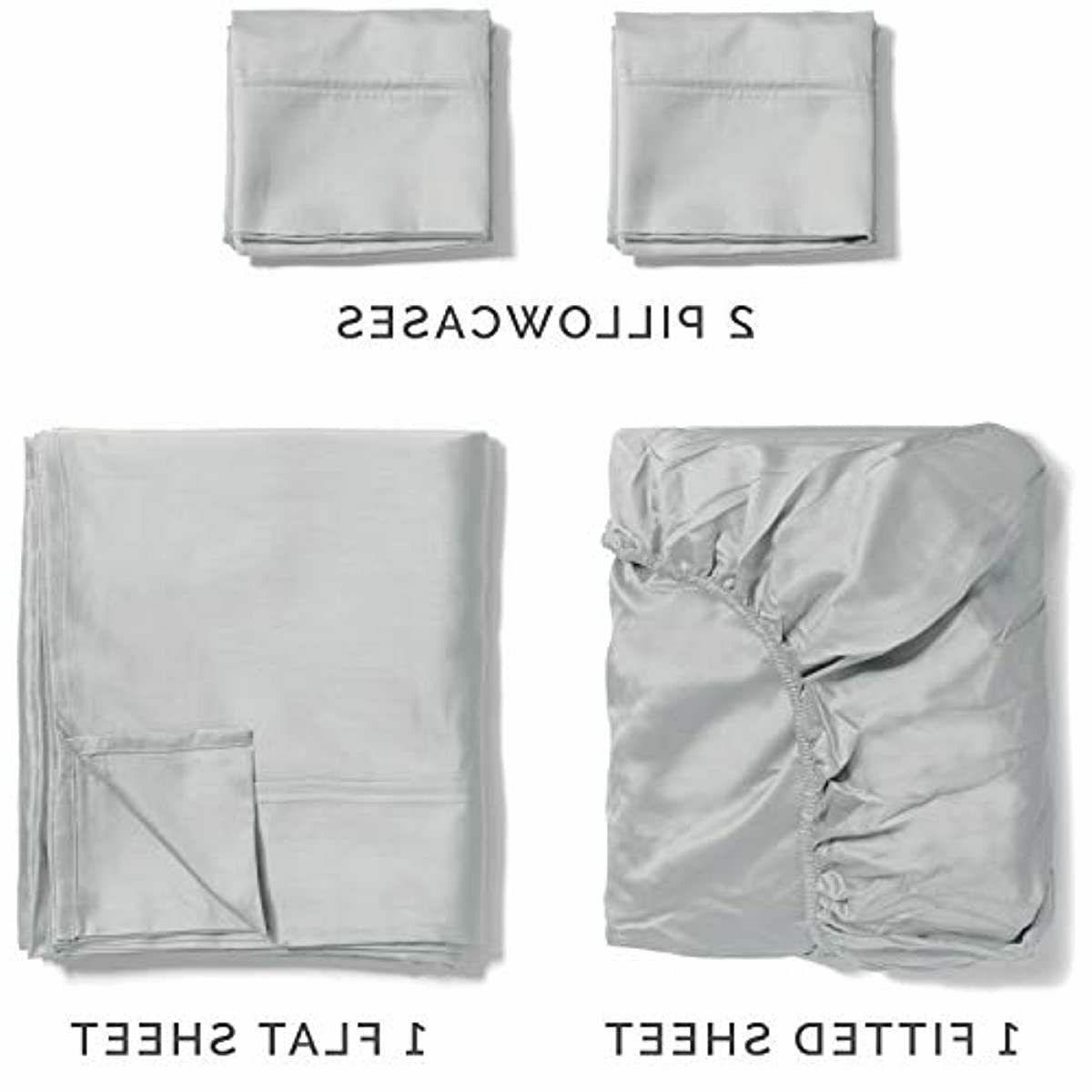 100% Cotton Full Light Grey Cooling