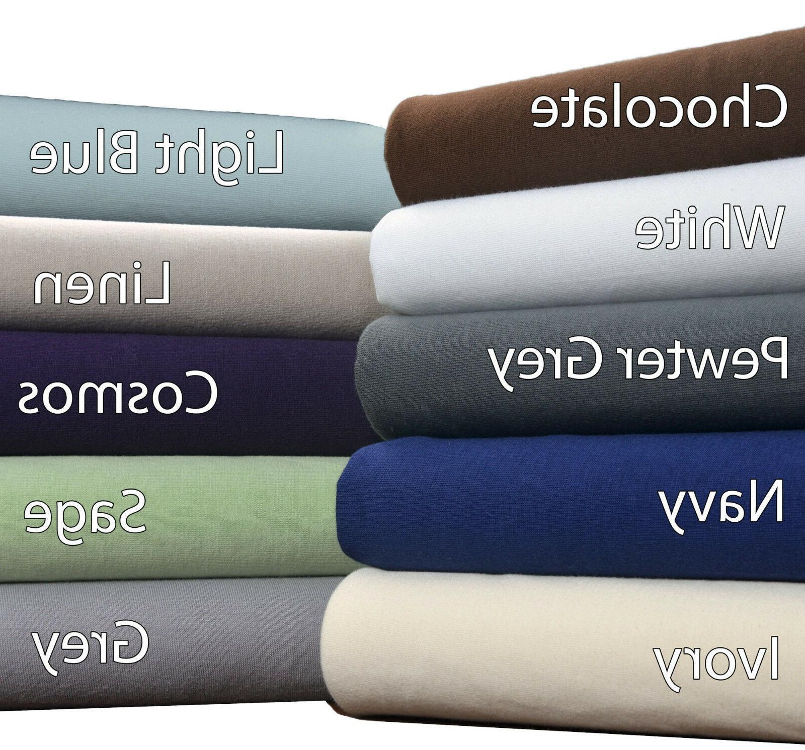100 percent cotton jersey knit t shirt