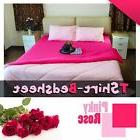 100% cotton jersey knitted bed sheet king size  super soft &