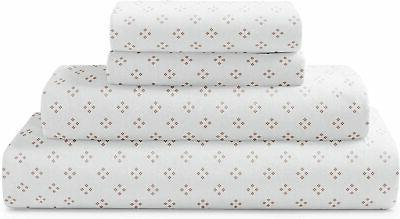 Brielle Cotton Jersey Knit  Sheet Set, King, Four DOT Blush