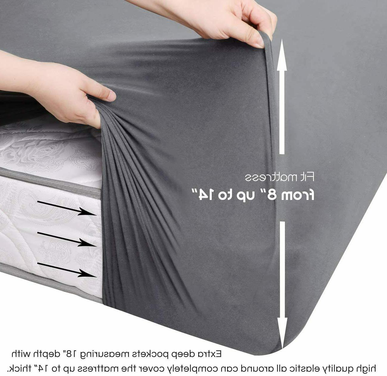 BROLEX-Queen-Fitted-Sheet,1 Only,Ultra Stretchy
