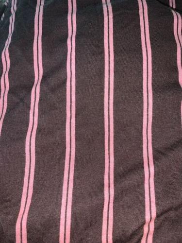 Brown, stripes Soft Tees Set