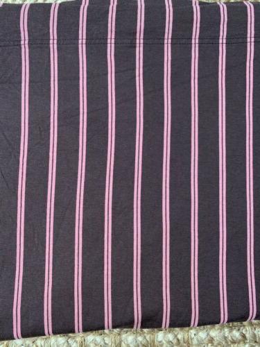 Brown, stripes Tees Jersey Set