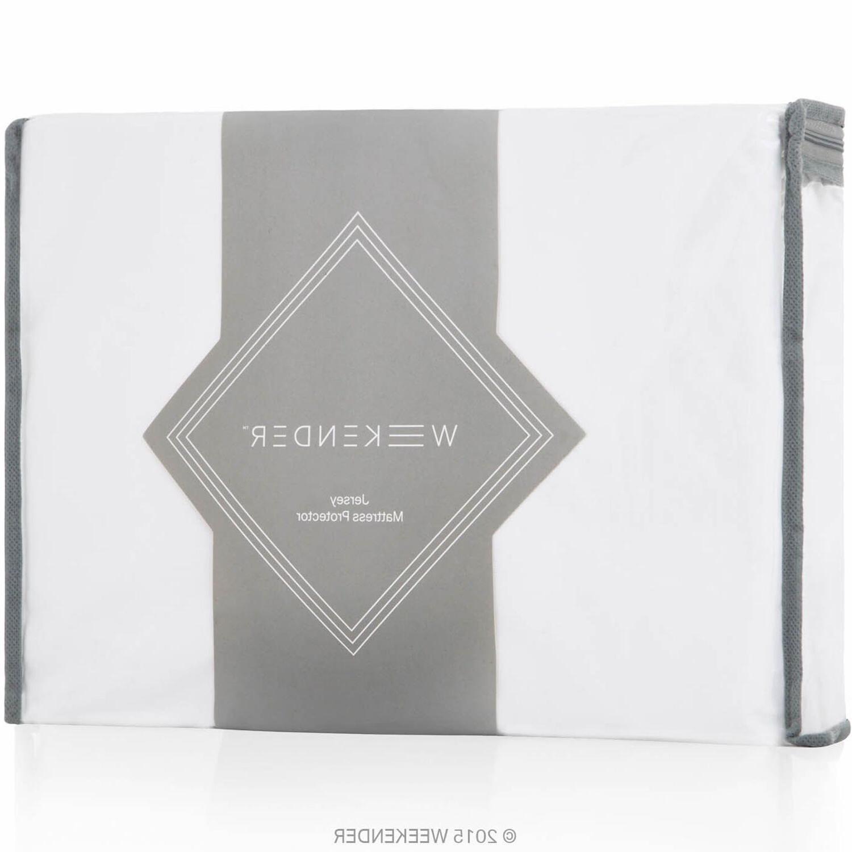 deep pocket fit mattress protector waterproof pad