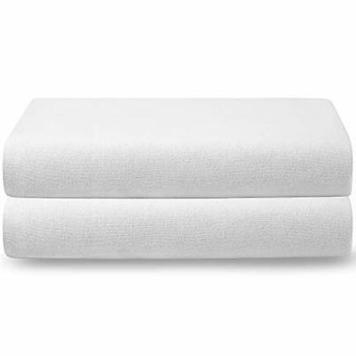 Bare Fitted 100% Cotton Ultra Soft Bottom Sheet – Breathable
