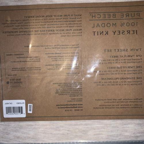 Pure Beech 100% Modal Twin Sheet Set - Soft ~ New
