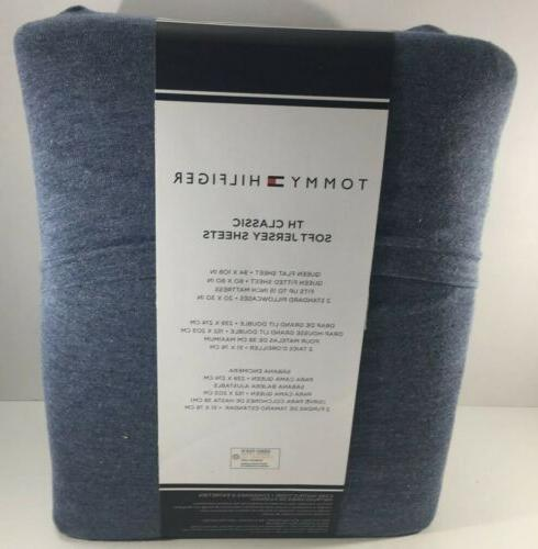 Tommy Sheet Set T Shirt Blend Heathered Soft