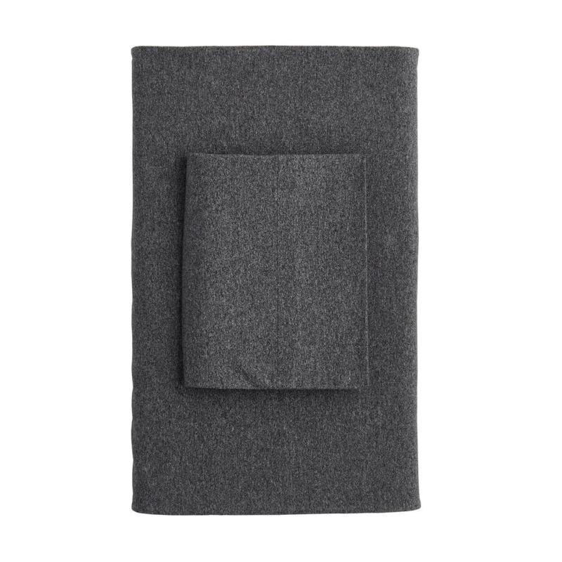 logan jersey cotton blend king fitted sheet