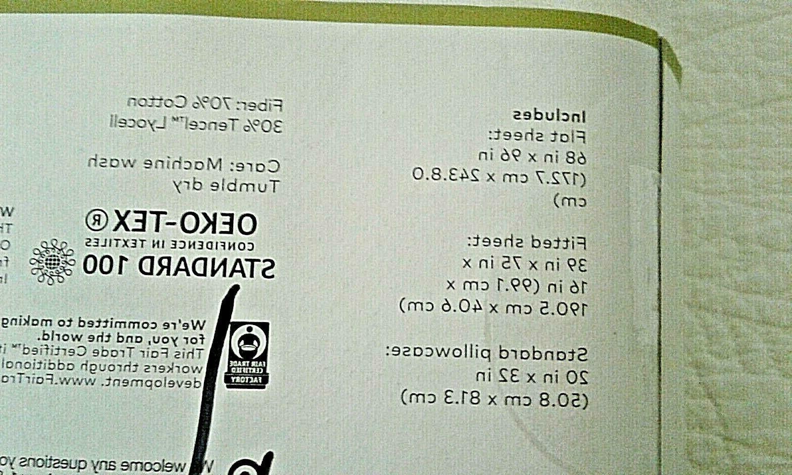 PROJECT 62 BERKUS BEIGE JERSEY SHEET --
