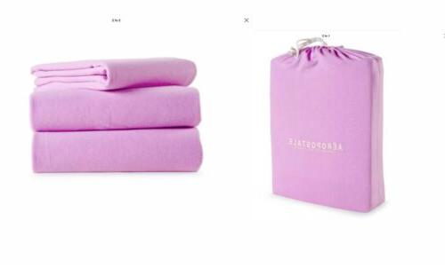 soft jersey sheets twin set purple violet