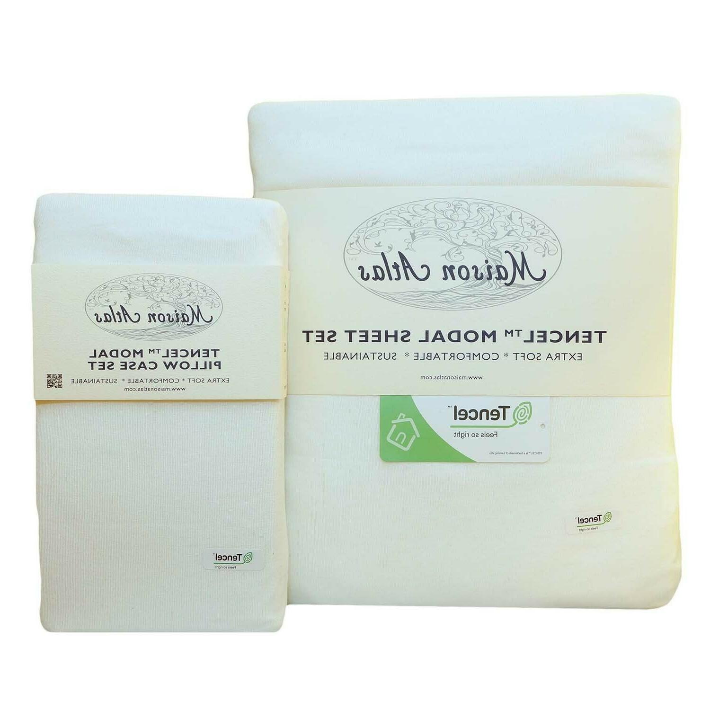 tencel modal jersey sheet set pillowcase by