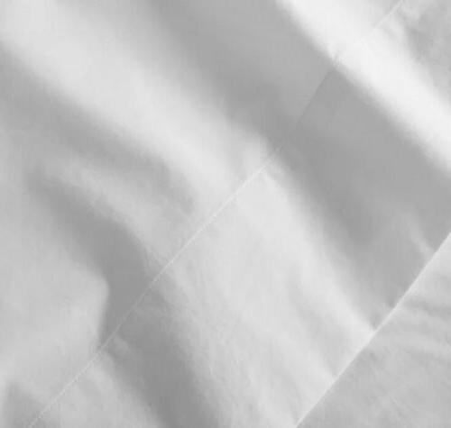 white jersey cotton lyocell blend soft pillowcase