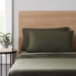 Mainstays Extra Soft Melange Dyed Jersey Bedding Sheet Set F