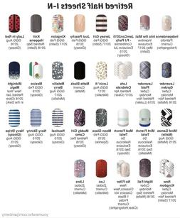 Jamberry Nail Wraps Half Sheet Retired I-N - In Stock!