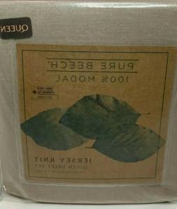 New Pure Beech 100% Modal 4 pc. Queen Sheet set Jersey Knit