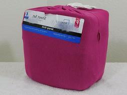 NEW MainStays Knit Jersey Sheet Set Extra Soft Shrink Resist
