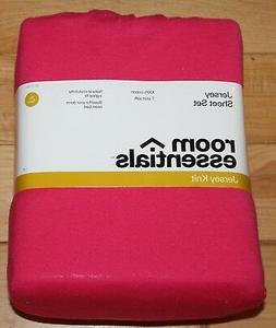 New Soft Jersey Knit Sheet Set XL Twin 100% Cotton White - D