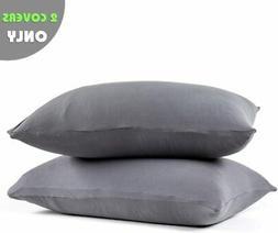 COSMOPLUS-Pillowcase-Queen-Size,Set of 2 Pillow Cases,Premiu