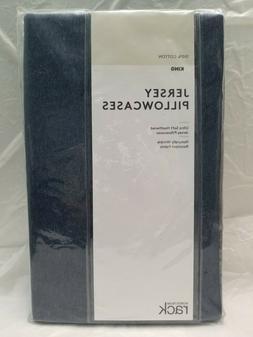 Nordstrom Rack RK366224KI Jersey Pillowcases Navy Blue Heath