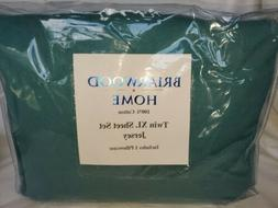 Briarwood Home Sheet Set TWIN XL 100% Cotton Solid Jersey TE