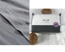 SPLENDID Slub Jersey Solid QUEEN Sheet Set, Luxury Bedding,