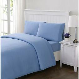 Truly Soft Solid Jersey Blue Twin XL Sheet Set, X-Large