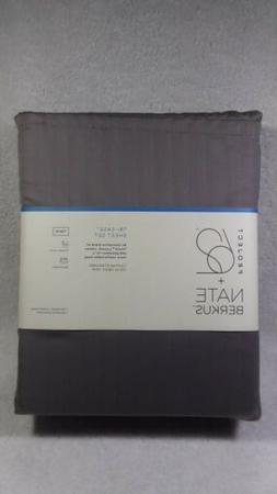 Twin 500 Thread count Tri-Ease Sheet Set Gray Project 62 Nat